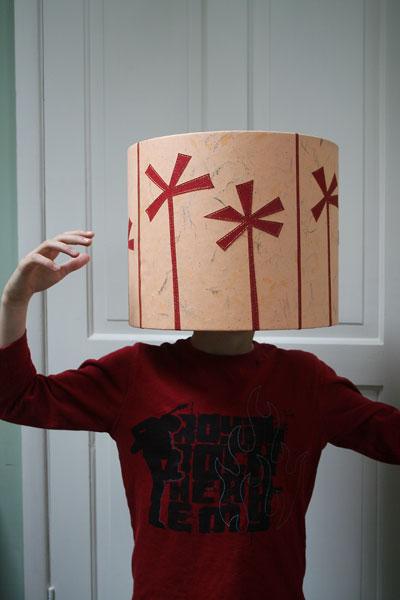Lampshade-head