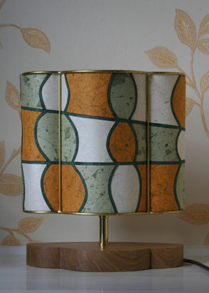 Mustard-and-green-lamp