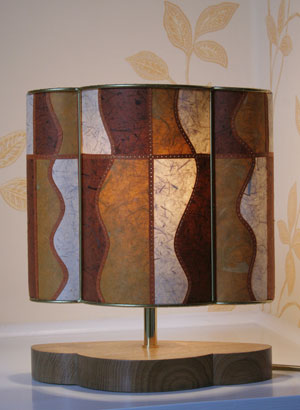 Caramel-and-toffee-lamp