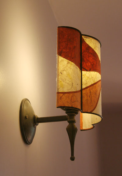 Wall-light-side-view