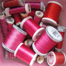Pink-threads