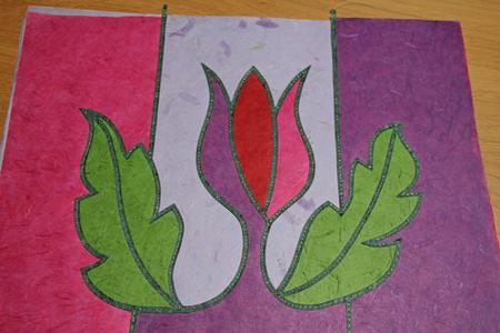 Flower-panel