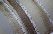 Stitched-parchment