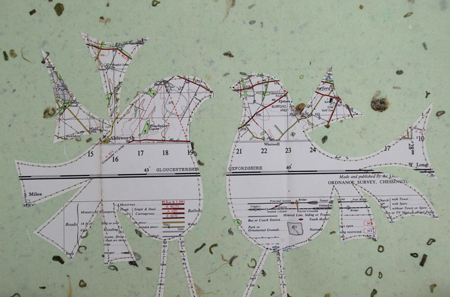 Stitched-map-birds