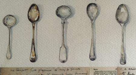 Spoons by Mariette Voke